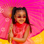 Five year old North West's Solo Magazine Cover Shoot For Beauty.inc