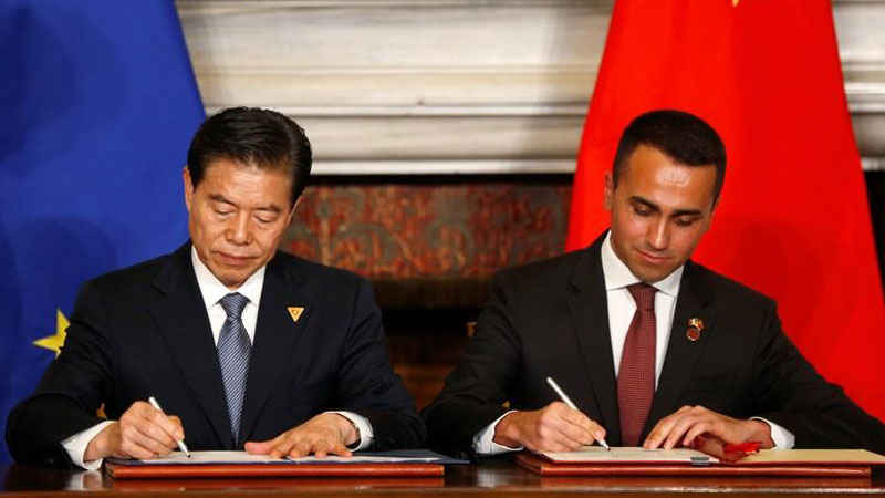 Italy joins Belt and Road plan, opening European ports to Beijing
