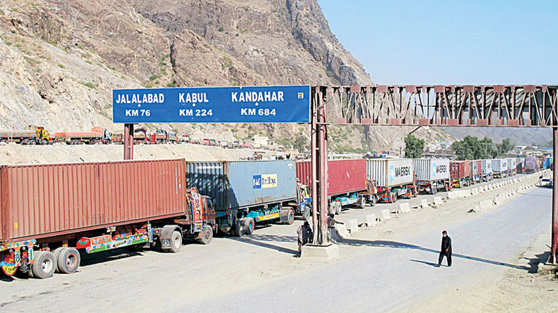 Afghan officials conditionally allow export loaded trucks to enter