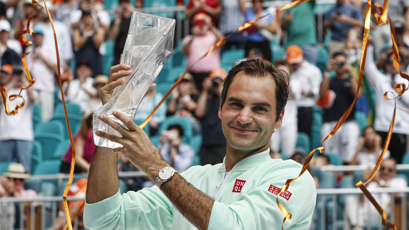 Roger Federer bags 4th Miami Open title