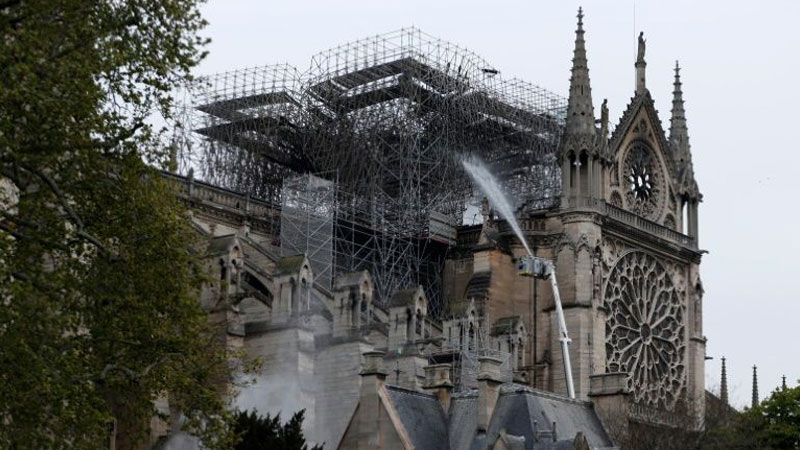 d204ead5 Billionaires and private donors mobilise to rebuild Notre-Dame