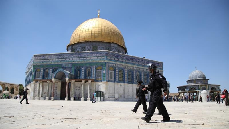 Fire broke out at Al-Aqsa same time as Paris's cathedral burned