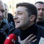Hungry for change, Ukrainians set to elect comedian as next president