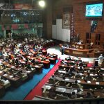 In Sindh Assembly, PPP MNAs protest against rolling back the 18th Amendment