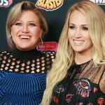 Kelly Clarkson shuts down Carrie Underwood feud rumours on Twitter