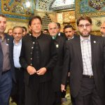 PM in Iran; pays respects at shrine of Imam Raza (AS)