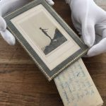 Unknown Daphne du Maurier poems discovered behind photo frame