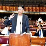 Asad Umar responds to Bilawal Bhutto in National Assembly