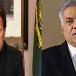 PM Imran calls Sri Lankan prime minister, condemns terrorist attacks