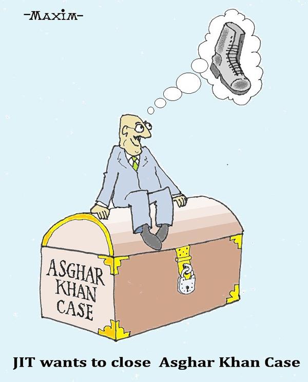 asghar khan cartoon