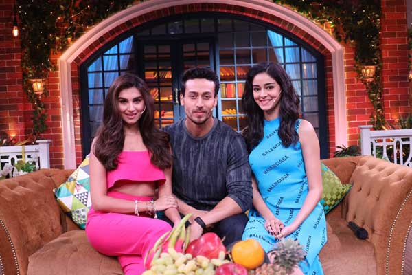Student of the Year 2' cast promote the film on Kapil Sharma's show