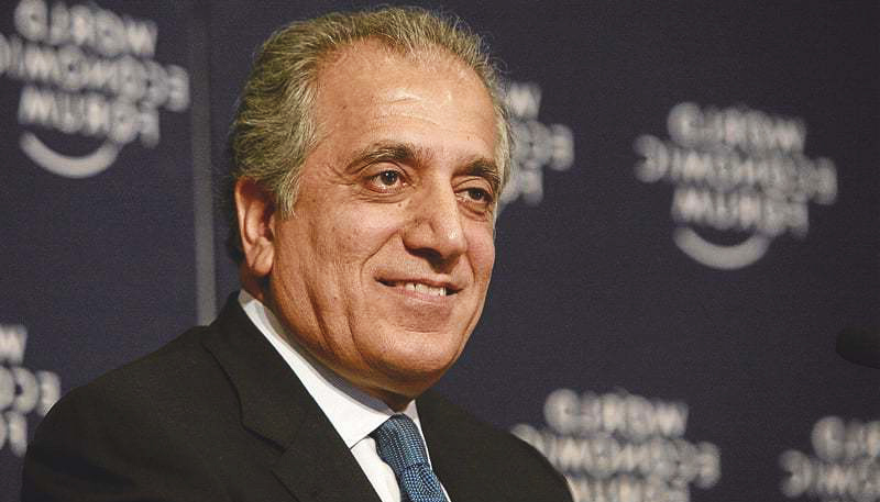 After Taliban deal, Khalilzad trying to reduce Afghan political tension