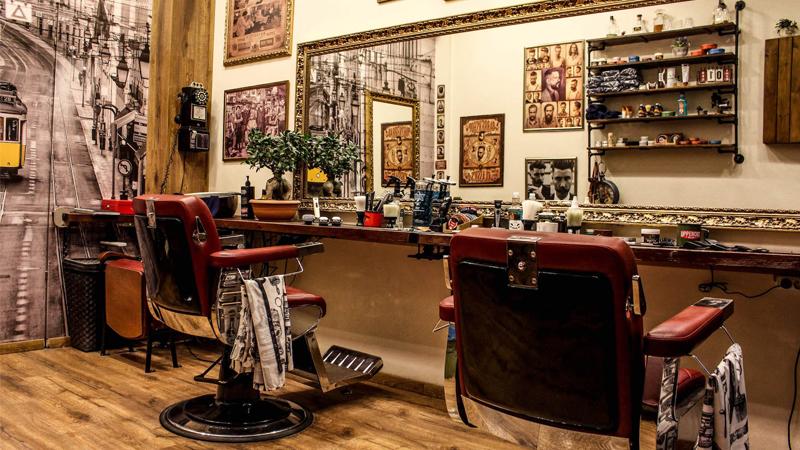 barber shop, saloon