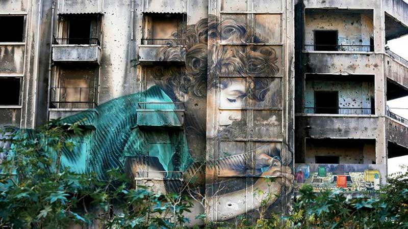 Decades-on-war-scarred-Beirut-buildings-remain