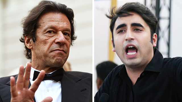 Image result for bilawal bhutto asking for imran khan to resign