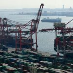 Japan's trade surplus falls sharply as exports drop