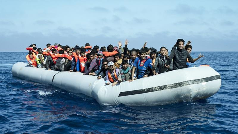 Libya's coastguard rescues 290 migrants off Tripoli's coast