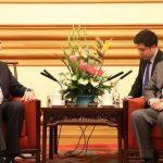 Iranian FM Zarif holds talks with FM Qureshi
