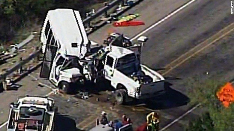 Van Truck Collision Kills Atleast 13 Near Qila Saifullah