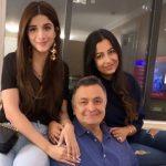 Mawra Hocane pays Rishi Kapoor a visit