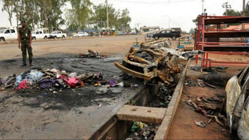 30 killed in triple suicide bombing in northeast Nigeria