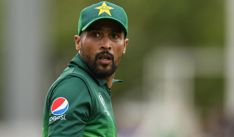 Please don't use bad words for players: Amir's message to