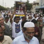 Egypt accuses UN of seeking to 'politicise' Morsi death