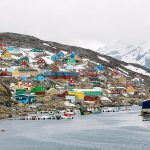 How the buildings in Greenland are colour-coded