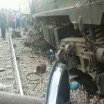 Three killed in train collision near Hyderabad