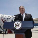 Pompeo arrives in Saudi Arabia for Iran crisis talks