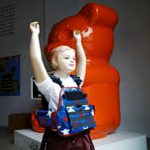 Tiny bulletproof vests centrepiece of New York art exhibit on school shootings