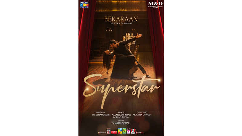 Ali Sethi and Zeb's love ballad for 'Superstar' is the