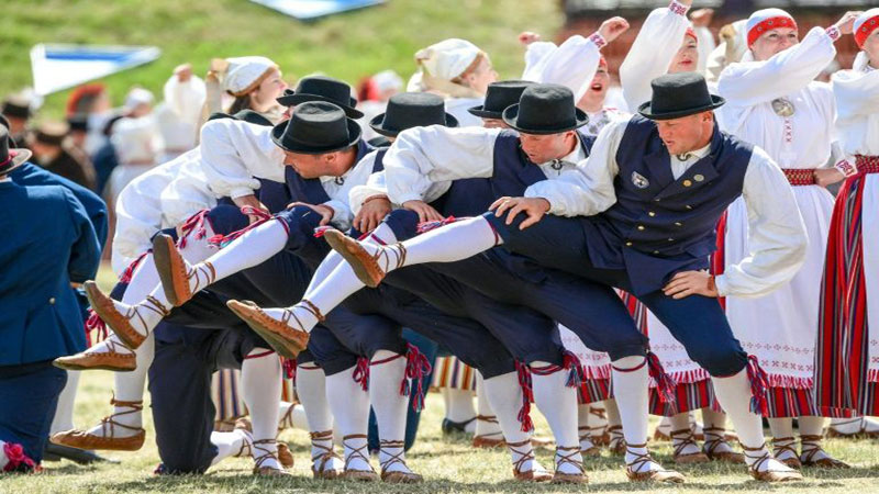 Estonians celebrate 150 years of traditional song festival