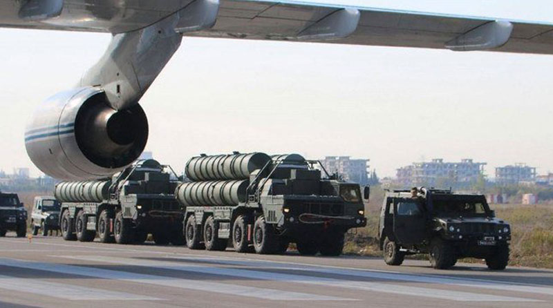 Turkey receives first shipment of Russian S-400 missile defense system - Daily Times