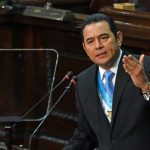 Guatemala president calls off US meeting with Trump