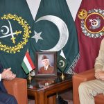 COAS discusses regional security with Hungarian envoy