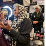 Pakistani beauty mogul showcases at international convention