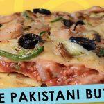 Pakistani! Tandoori pizzas