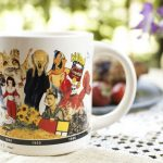 Learn thousands of years of art history as you drink from this quirky coffee cup