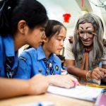 Thai teacher learns how to make English lessons fun