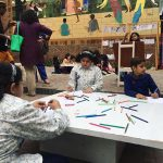 Children's Drawing Workshop continues at Alhamra
