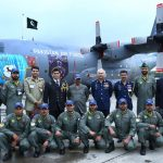 Air Chief witnesses static display of PAF Hercules at Royal International Air Tattoo-2019