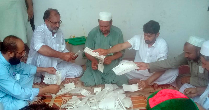 Independent candidates lead polls in ex-FATA