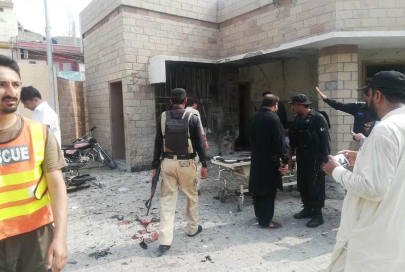 Five people martyred in blast: DI Khan