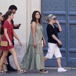 Selena Gomez vacations in Italy on 27th birthday