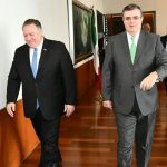 Pompeo and Mexican counterpart welcome reduced flow of migrants