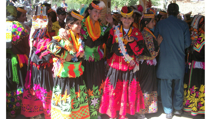Uchal — a festival of shepherds and farmers of the Kalash tribe
