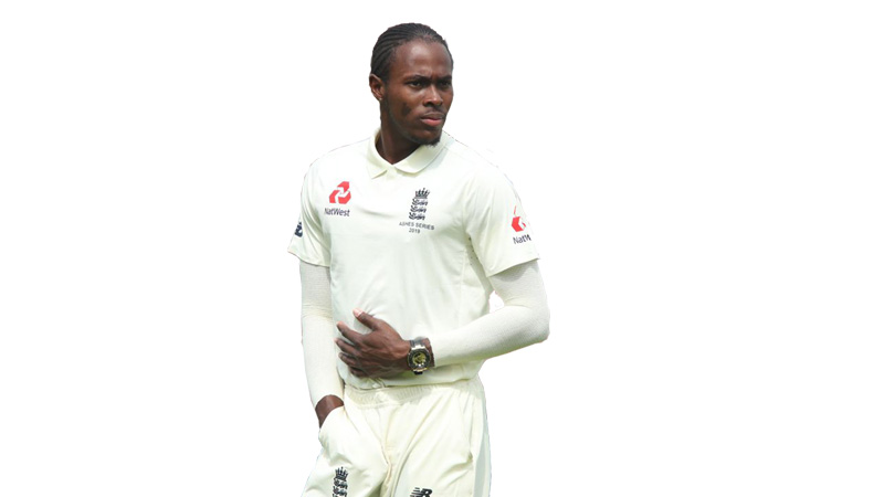 Jofra Archer gets first Test wicket as England hit back