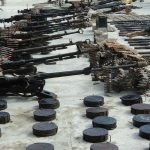 Four terrorists killed, arms, grenades seized