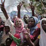 Crowds fill Khartoum's streets to hail 'new Sudan'